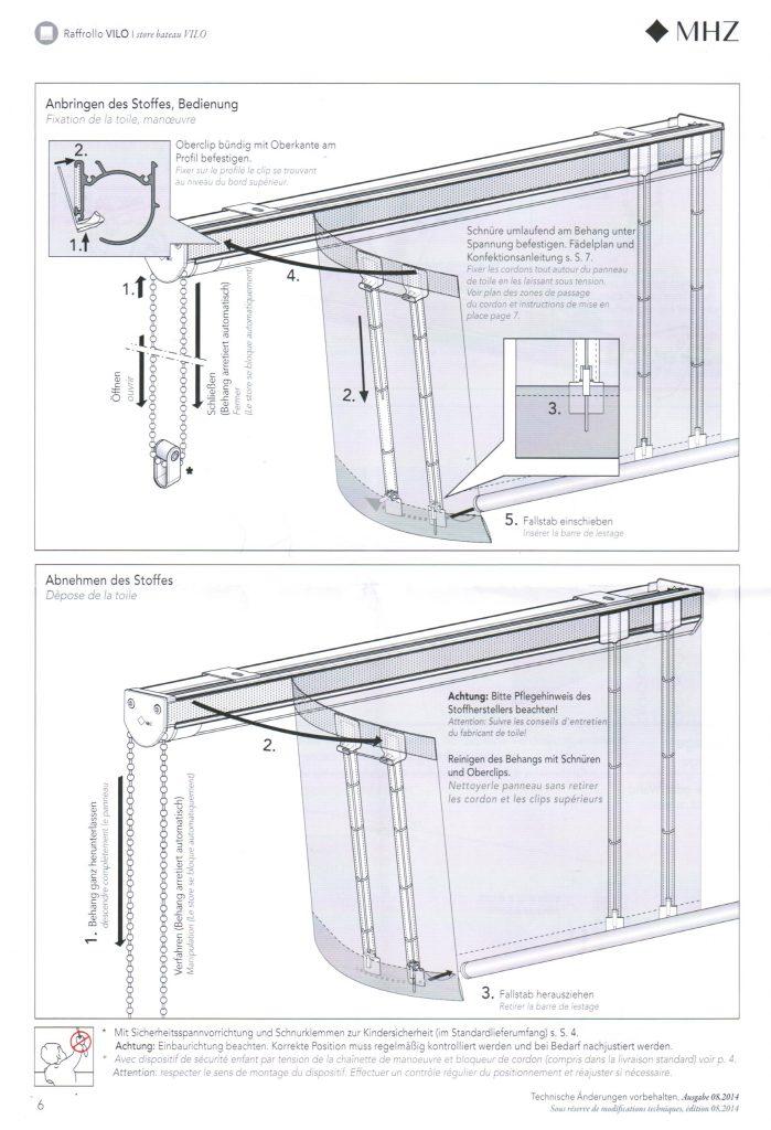raffrollo reinigen perfect raffrollo nach ma flieende stoffe flexible bedienung with raffrollo. Black Bedroom Furniture Sets. Home Design Ideas
